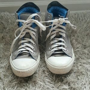 High cut converse shoes